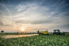 Save costs while spraying; automatic section control or SprayerPro™ will switch the sections automatically