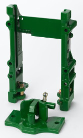 Three-in-one rail with piton fix insert slider