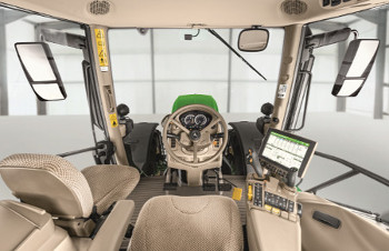 View of cab