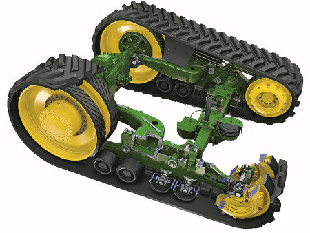 AirCushion suspension system isolates the entire front chassis from harsh inputs