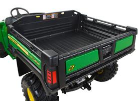 Deluxe cargo box (TX 4X2 shown)