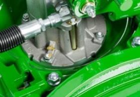 Motore dell'apparato falciante