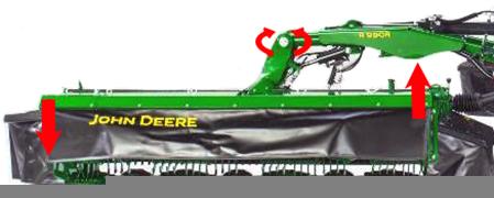Piattaforma di taglio articolata