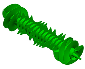 Rotore Premium con denti lungo l'intera circonferenza dell'asse