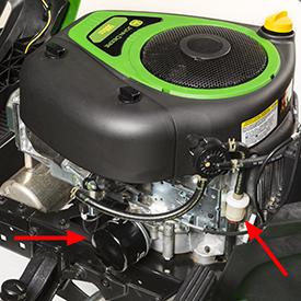 Filtro del carburante e filtro dell'olio del motore