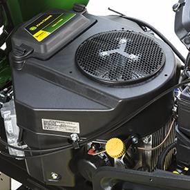 Motore bicilindrico a V con funzionamento regolare