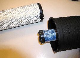 Filtro aria del motore a secco