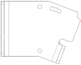 Adjustable sensor bracket (KK66131 and KK63782)
