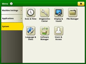 File manager icon upper right