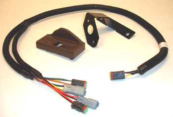 Mounting kit for GreenStar 2 display control unit