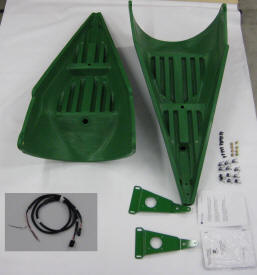 RowSense retrofit kit for corn head