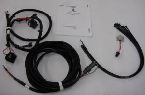 High-current power-adapter harness