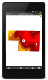 Map on Android® smartphone