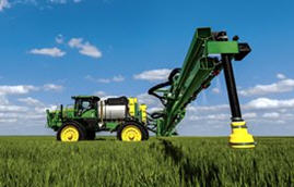Monitor weather conditions to optimize effectiveness of chemical application