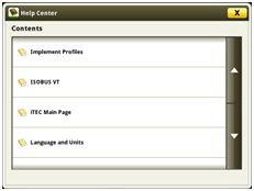 Help center main page