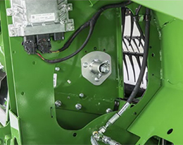 Feed drum controls and slip clutch