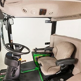 ComfortCab high-quality interior