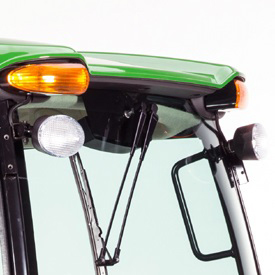Two standard front lights