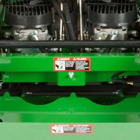 Hydrostatic pump maintenance access