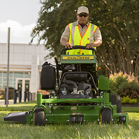 QuikTrak™ Mower mowing (652R shown)