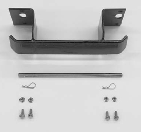 Rear weight mounting bracket parts