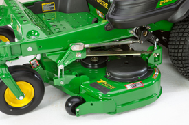 48-in. (122-cm) mower deck shown on Z915E