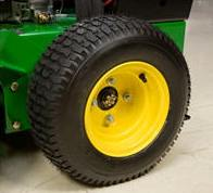 Mower drive wheel on WH36A