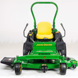 Z997R shown with 72-in. (183-cm) 7-Iron PRO side-discharge mower