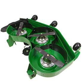 Mulch kit shown on Estate ZTrak™ mower deck
