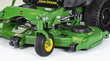 Similar 72-in. (183-cm) mower deck shown