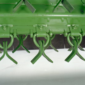 Flail fastening system