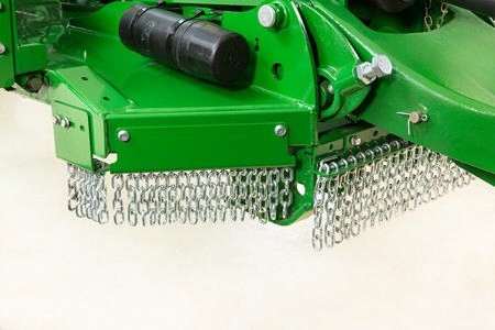 Front safety chains