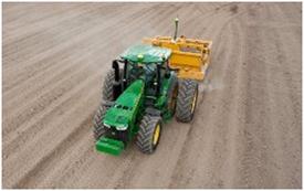 Precision leveling farm land with iGrade™
