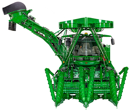 CH9 Series Two-Row Harvester