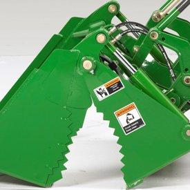 Serrated edges enhance security and durability