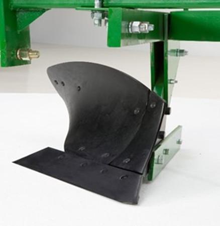 Replaceable plow components extend plow life