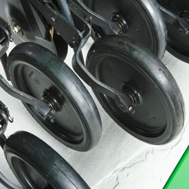 Depth gauge press wheels for better seedbed