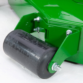 Front-mounted roller shown
