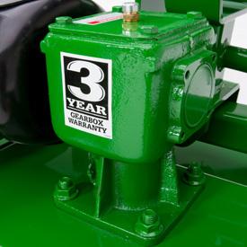 3-year residential gearbox warranty