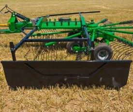 Adjustable to accommodate raking needs