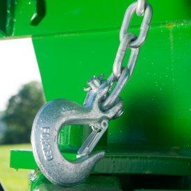 Overhead frame lock