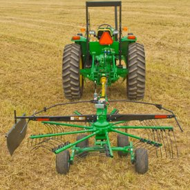 Cam-action tine arms reduce drying time