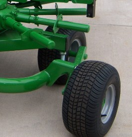 Flotation tires provide top-quality performance