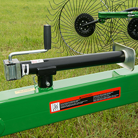 Windrow jack for quick and easy adjustments