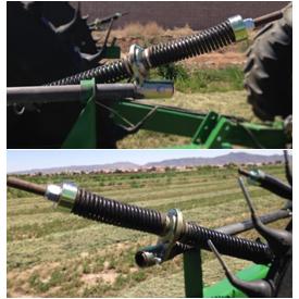 Bi-directional spring option installed
