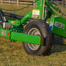 Durable 11L x 15SL ribbed implement tires