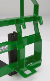 Quick-attach system for 800 Series Loaders