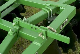 Easily adjustable for varying soil conditions