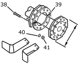 Rotor flange reinforcement kit