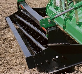 Cage rollers create a firm seedbed